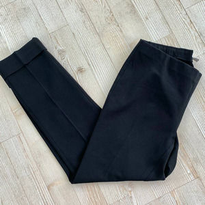 J Jill Black Pull On Work Pants 2P
